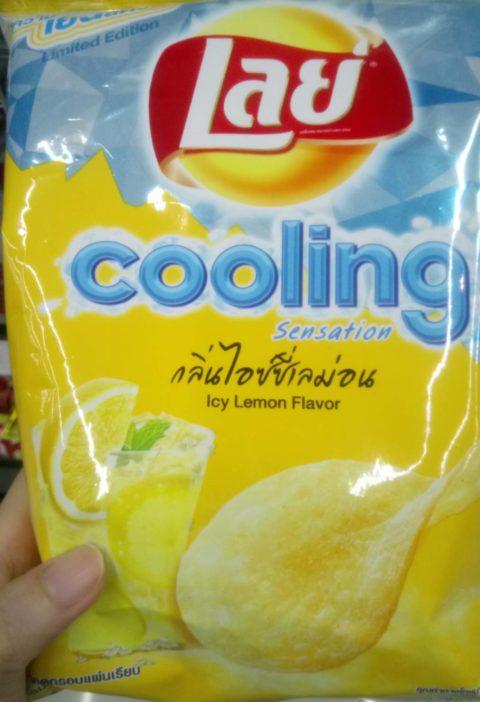 Cooling lemon chips