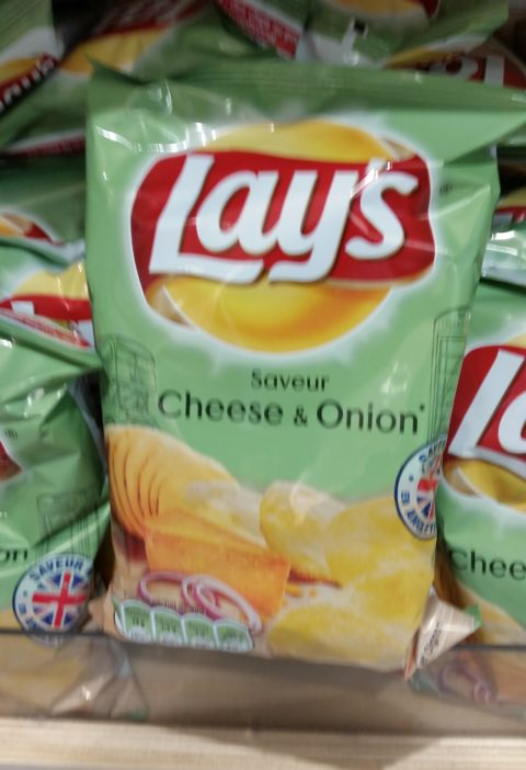 Cheese and onion flavor