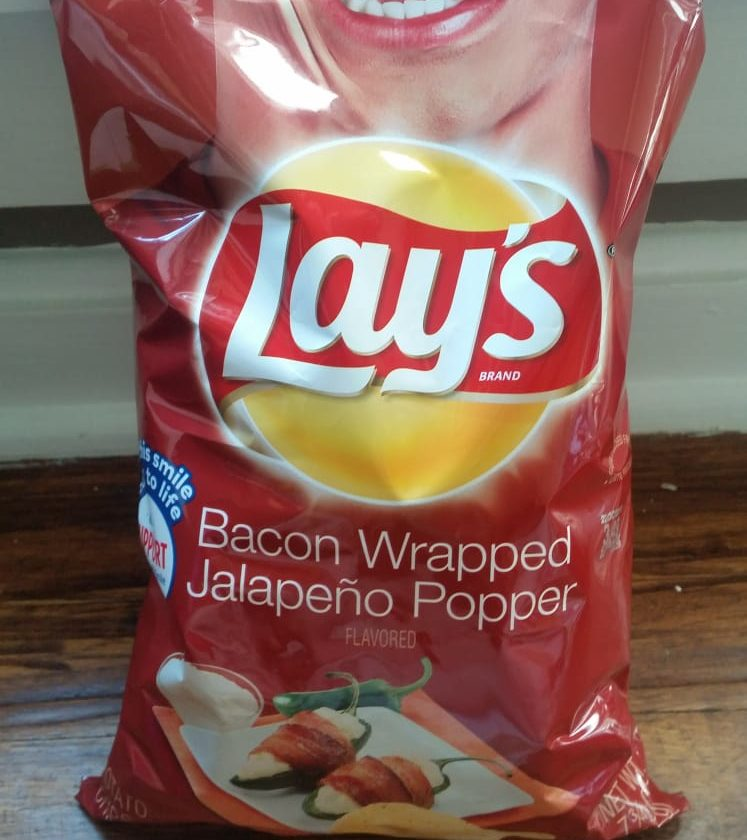 Bacon wrapped jalapeno popper flavor