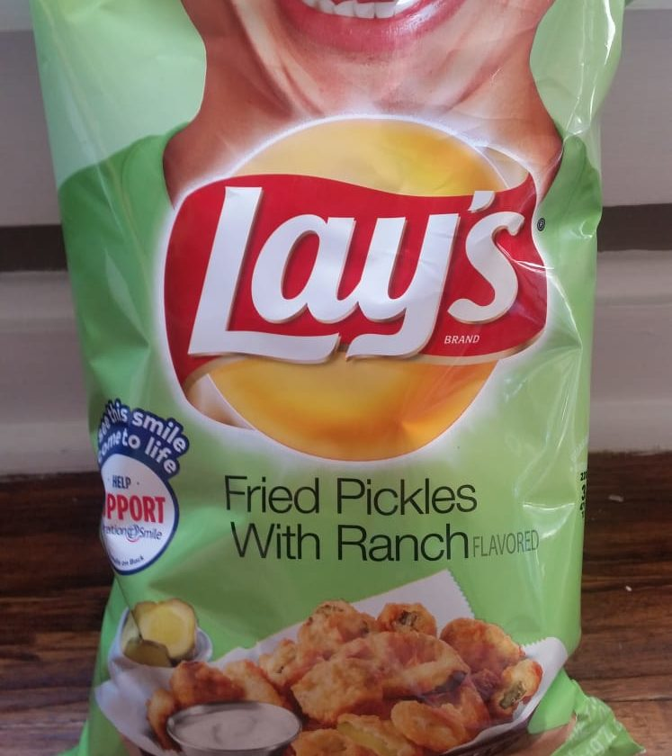 Fried pickle flavor