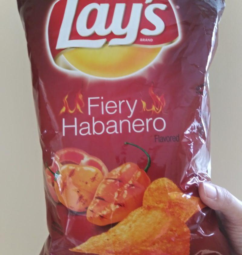 Fiery habanero flavor