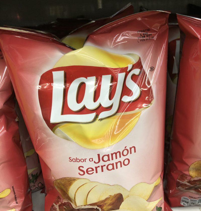 Jamon serrano flavor