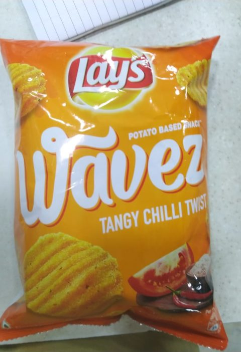 Tangy chilli twist flavor